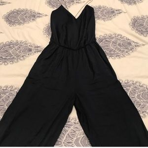 ZARA Romper with gold straps